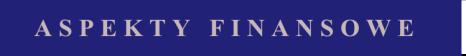 aspekty finansowe