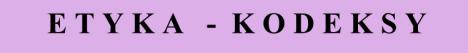 ETYKA-KODEKSY