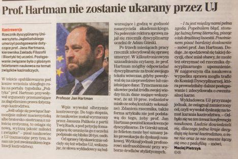Dziennik Polski 21 stycznia 2015